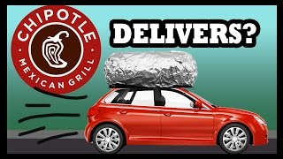 Chipotle's Bringing Burritos To Your Door! - Food Feeder