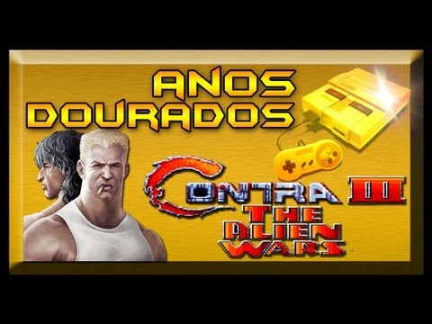 Contra III: The Alien Wars Anos Dourados (SNES)