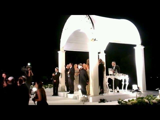 גד אלבז כניסה לחופה - מי שברך תפילה עם ברכת הכוהנים