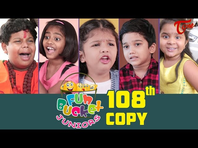 Fun Bucket JUNIORS | Episode 108 | Kids Funny Videos | Comedy Web Series | By Nagendra K | TeluguOne thumbnail