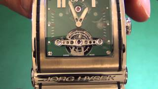 Jorg Hysek XX ray Double Tourbillon