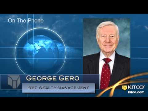Can Gold Prices Go Lower? Absolutely Says George Gero, RBC - Kitco.com Breaking News