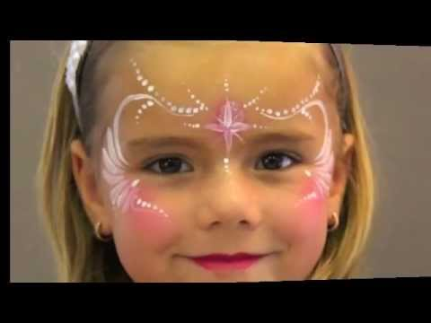Princess face painting maquillage pour enfants youtube - Maquillage simple enfant ...