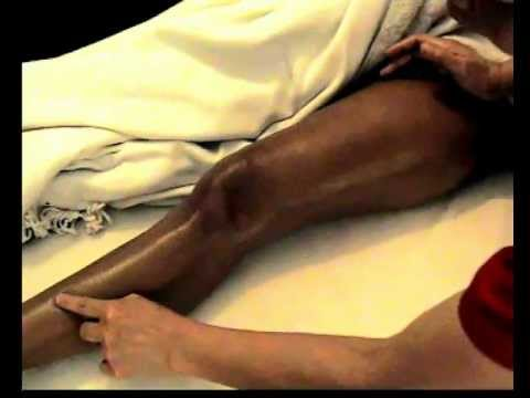 Learn How To Massage Part 3  Front Leg And Foot,thai Massage,thai Oil Massage