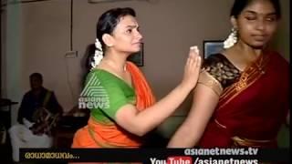 Actress krishna Prabha's  dance drama performance practice