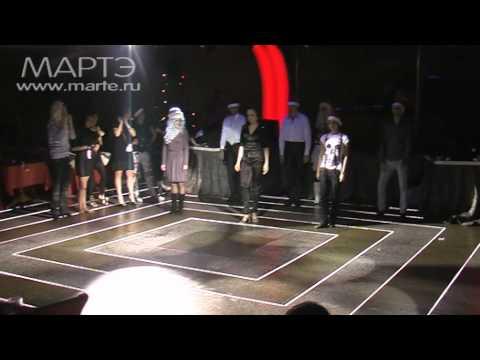 хореографы школы танцев на вечеринке СнегоПати 2010
