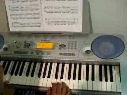 Jaage Hain - my amateurish attempt on keyboard