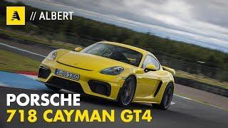 Porsche Cayman GT4 | Cuore aspirato, anima 718