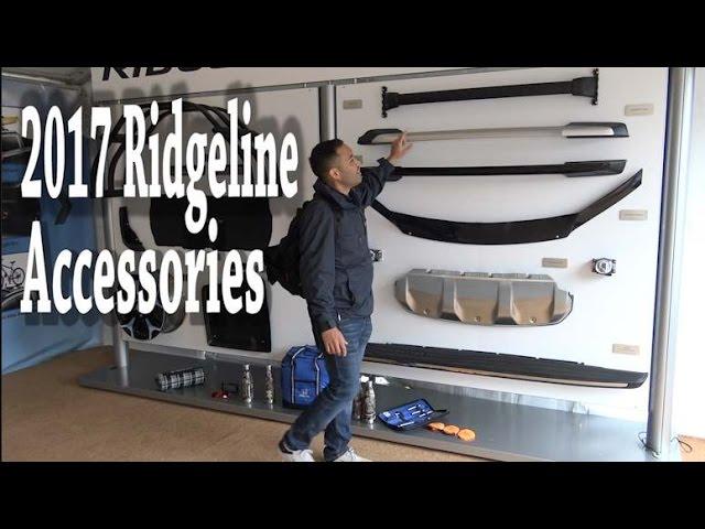 2017 Honda Ridgeline Accessories