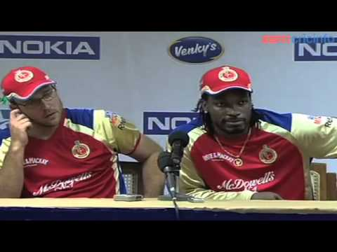 Daniel Vettori - Press Conference, Royal Challengers Bangalore v Somerset