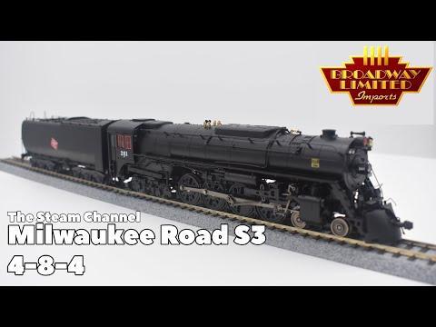 Review: BLI Milwaukee Road S3 #261 & #265 DC/DCC Paragon 3 Sound
