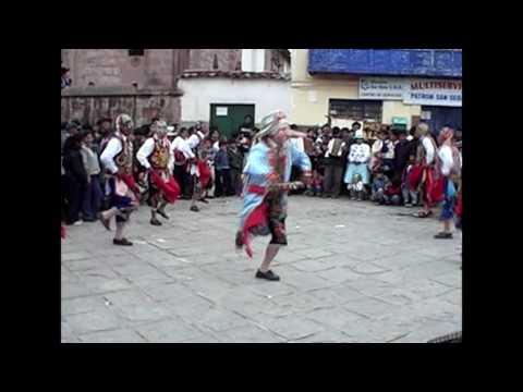 danza tradicional de cusco : contradanza