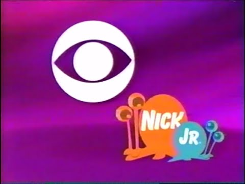 november 20, 2004 nick jr. on cbs (wiat) opening