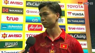 Công Phượng trả lời phỏng vấn Bằng Tiếng Anh Tại Giải M150 Cup Thái Lan