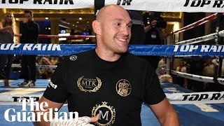 Tyson Fury promises to 'leave Tom Schwarz in a heap on the floor' after heavyweight fight
