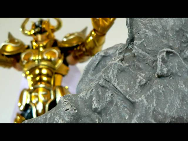 Test - rocher pour Myth Cloth Saint Seiya
