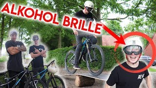 BIKE PARKOUR mit ALKOHOL BRILLE!