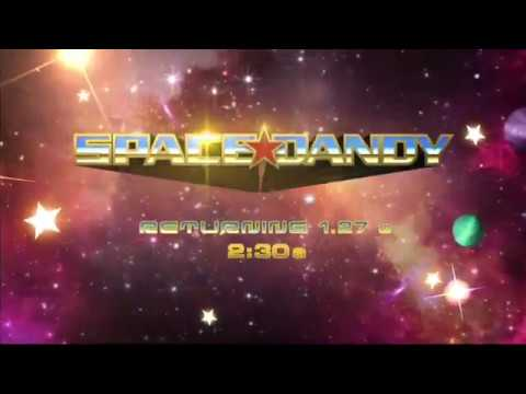 Toonami - Space Dandy 2018 Rerun Promo (HD 1080p)