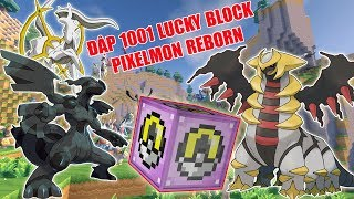 THỬ THÁCH ĐẬP 1001 LUCKY BLOCK PIXELMON REBORN ** POKEMON HUYỀN THOẠI VIP MỚI CỦA NOOB #1