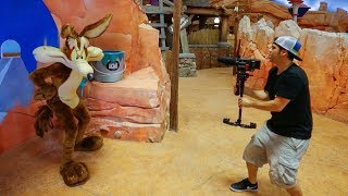 Filming in the World's Biggest Indoor Theme Park!!