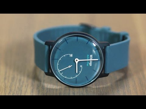 Withings Activité Pop bakes fitness tech into an affordable everyday watch