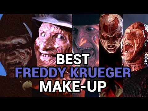 The Best Freddy Krueger Make-Up (A Nightmare on Elm Street)