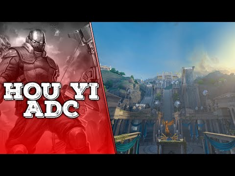 SMITE: AIM NOT FOUND | Hou Yi ADC Conquest Ranked Gameplay