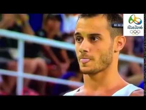 en vivo FRANCES se destroza la pierna Accidente olimpiadas RIO 2016/ Gimnasia artistica