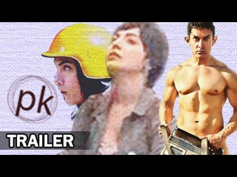 PK (Peekay) OFFICIAL TRAILER | Aamir Khan Anushka Sharma | PK...