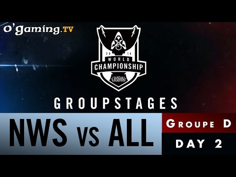 World Championship 2014 - Groupstages - Groupe D - NWS vs ALL