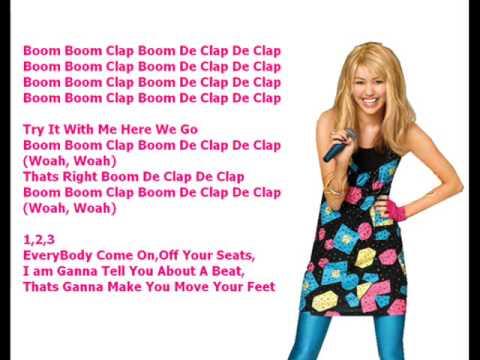 Miley cyrus hoedown throwdown w lyrics youtube