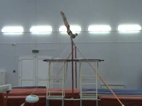Спортивная гимнастика. Девочки. Брусья.