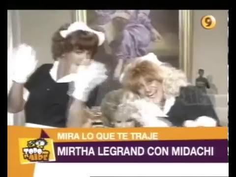 TPA - Mirtha Legrand con Midachi 1992