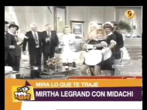 TPA - Mirtha Legrand con Midachi 1992