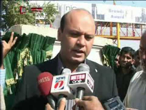 Inauguration of Anum Zehra Pedestrian Overhead Bridge, Gulshan Town