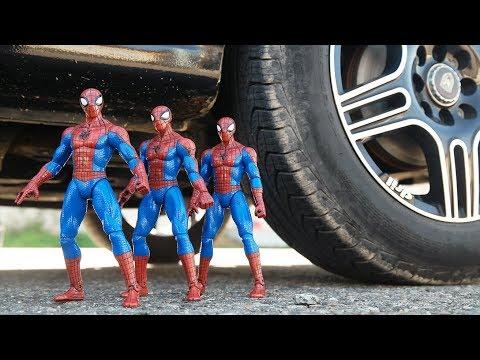CAR VS SPIDER-MAN SPIDER-MAN SPIDER-MAN