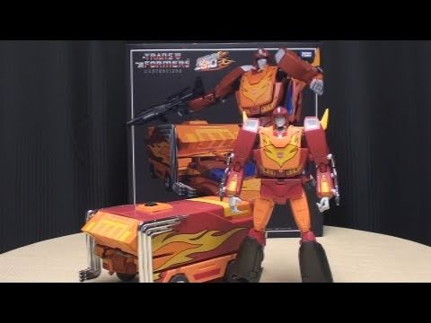 PART 1: Masterpiece RODIMUS PRIME/HOT ROD: EmGo's Transformers Reviews N' Stuff