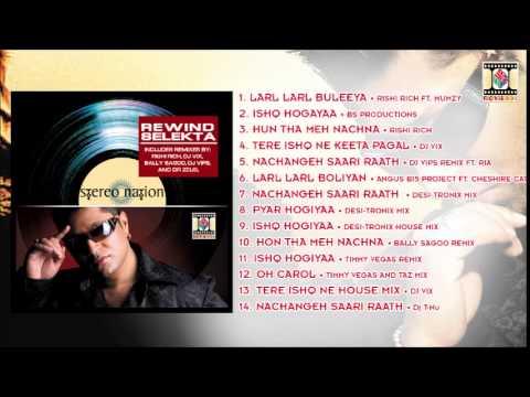 REWIND SELEKTA - TAZ (STEREO NATION) - FULL SONGS JUKEBOX