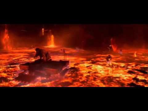 Финальная битва Обиван против Энакина (Английская верссия)