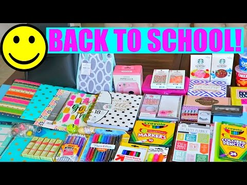 BACK TO SCHOOL SUPPLIES SHOPPING FOR GIVEAWAY!
