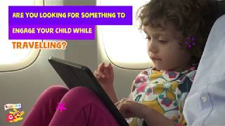 Kiddopia | Learning App for Kids | Play when you Travel (Plane)