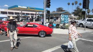 Ontario California Route 66 Car show SAT 09/20/2014 1969 cobra jet red