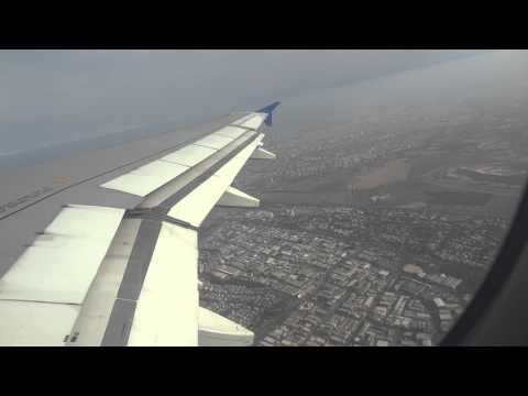 Cyprus Airways take off from Tel-Aviv to Larnaca