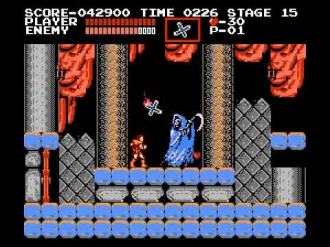 Castlevania(NES) Stage 15: Grim Reaper of Death Video