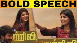 Aishwarya Rajesh Mass Speech   Kanaa Success Meet   Sivakarthikeyan