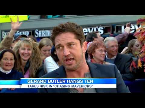 GMA - Gerard Butler on 'Chasing Mavericks'  - 22 Oct 2012