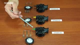 Водно-газовые узлы колонок Mora-Top