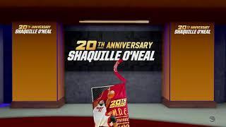 NBA 2K19 10 Pack 20th Anniversary Shaq Box Break