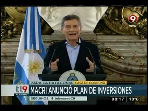Macri anunció plan de inversiones con Pan American Energy