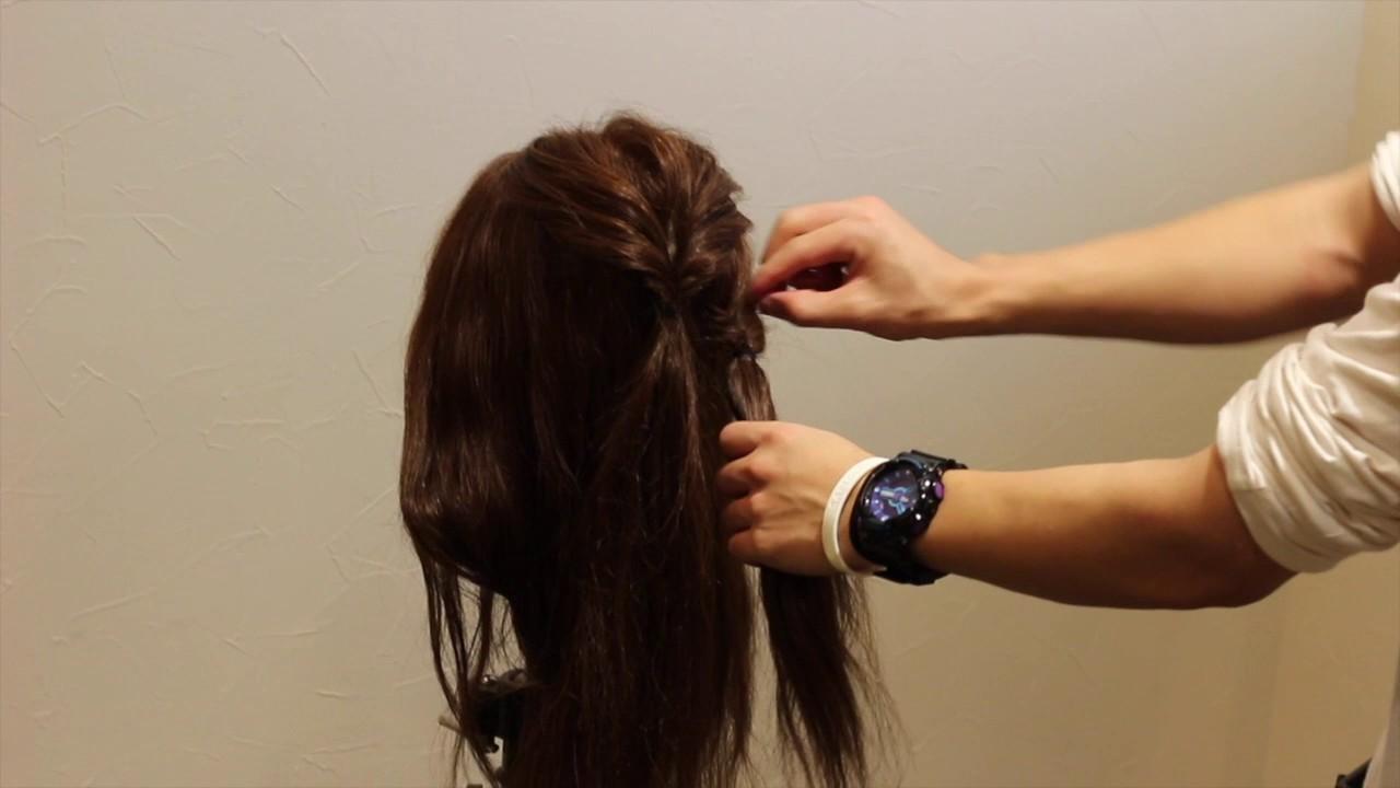 式 卒 女の子 園 髪型